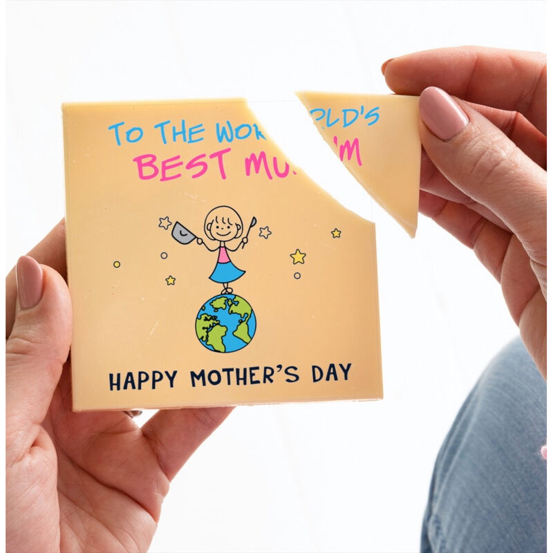 Boutique Chocolat -  World's Best Mum Mother's Day Chocolate Card
