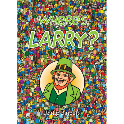 Where's Larry? Book For Kids