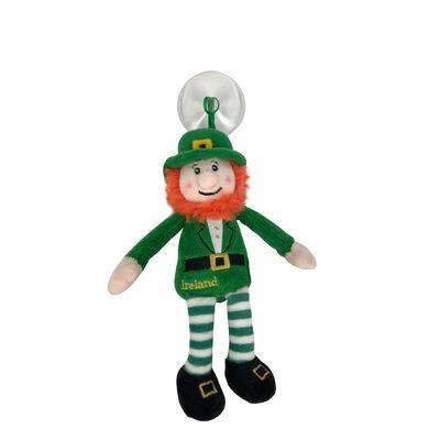 Irish Murphy The Leprechaun In Green Suit Suction Cup Toy – 9 Cm