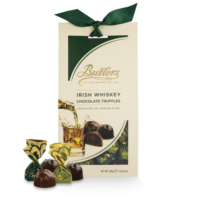 Butlers Truffles With Irish Whiskey In Tapered Box 300G