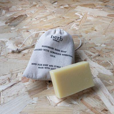 Lemon Natural Handmade Irish Soap Infused With Essential Oils
