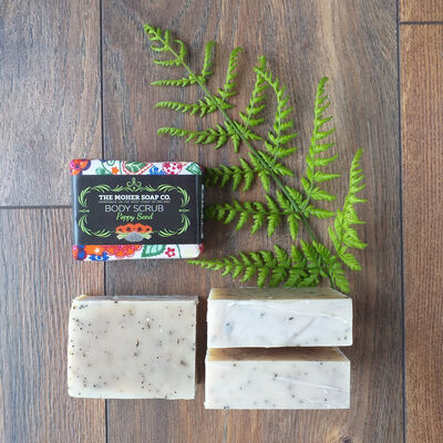 The Moher Soap Co. Poppy Seed Natural Body Scrub