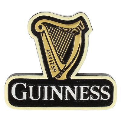 Guinness Official Merchandise Classic Harp Design Resin Magnet