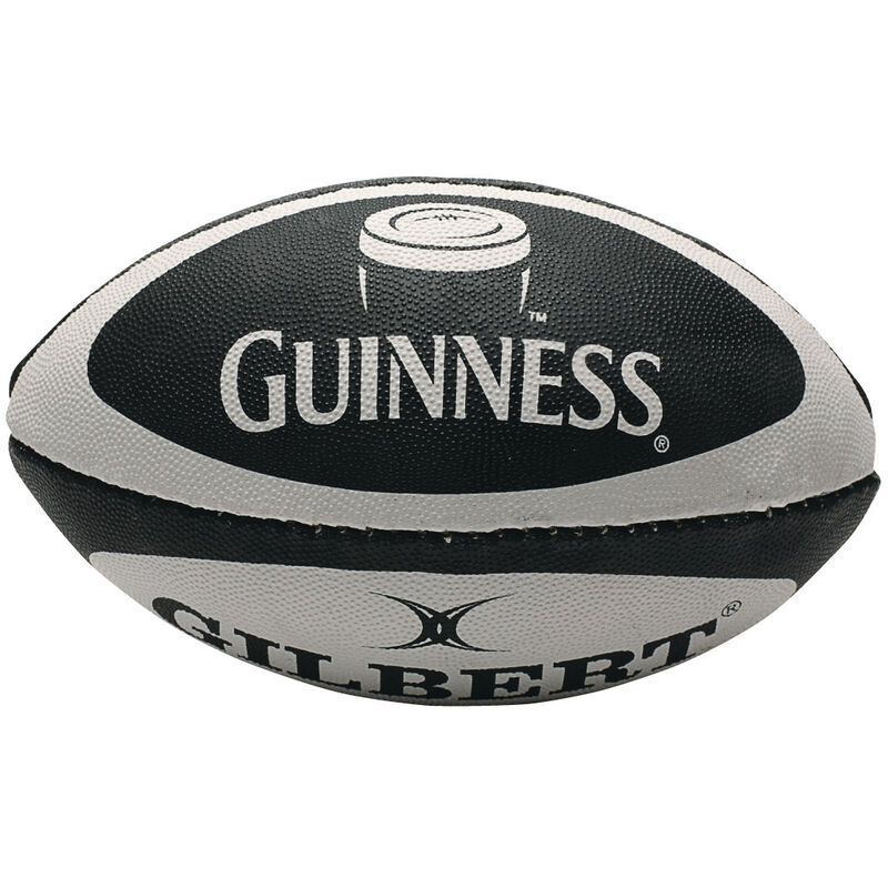 Classic Guinness Design Mini Rugby Ball  Made By Gilbert