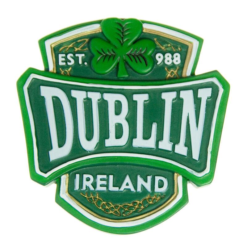 Resin Magnet With Dublin Varsity Crest