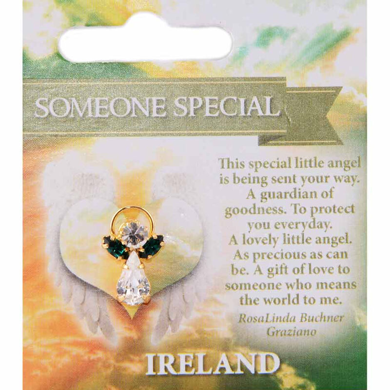 Guardian Angel Pin With Someone Special Blessing