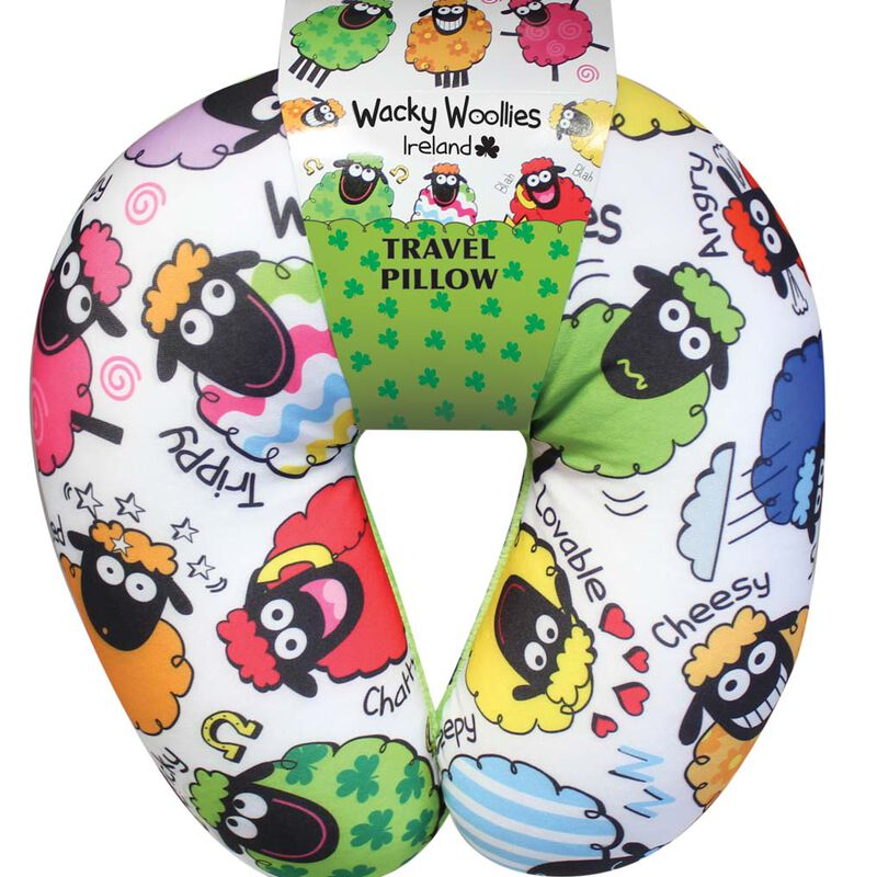 Wacky Woollies Travel Pillow