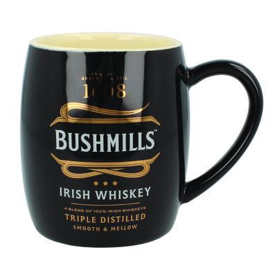 Ceramic Bushmills Irish Whiskey 1608 Barrell Mug