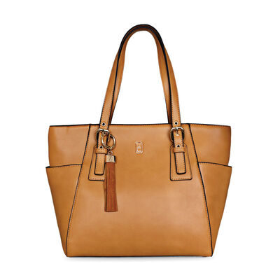 Tipperary Crystal Grafton Tote Bag, Brown Colour