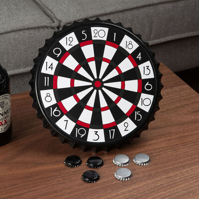 Harvey's Bored Games - Magnetic Bottle Cap Darts