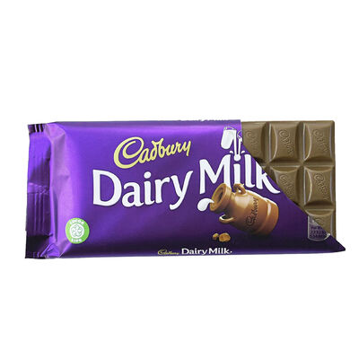 Cadburys Dairy Milk Chocolate Giant Bar, 110g