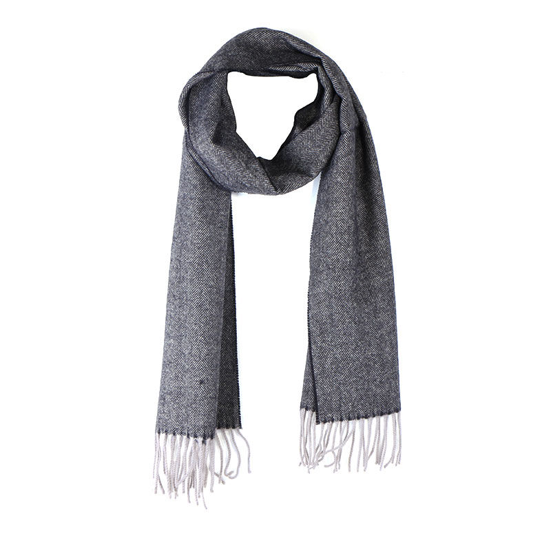 Celtic Tweed Grey Scarf