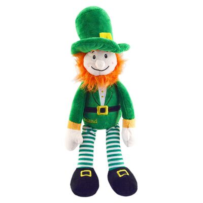 38Cm Murphy The LeprechaunSoft Toy With Green Design And Red Beard
