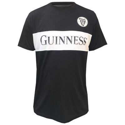 Official Guinness Performance Top, Black & White Colour