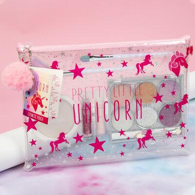 Pretty Little Unicorn Cosmetic Bag Gift Set