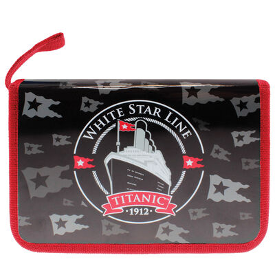 Titanic 1912 White Star Line Collectors Filled Pencil Case