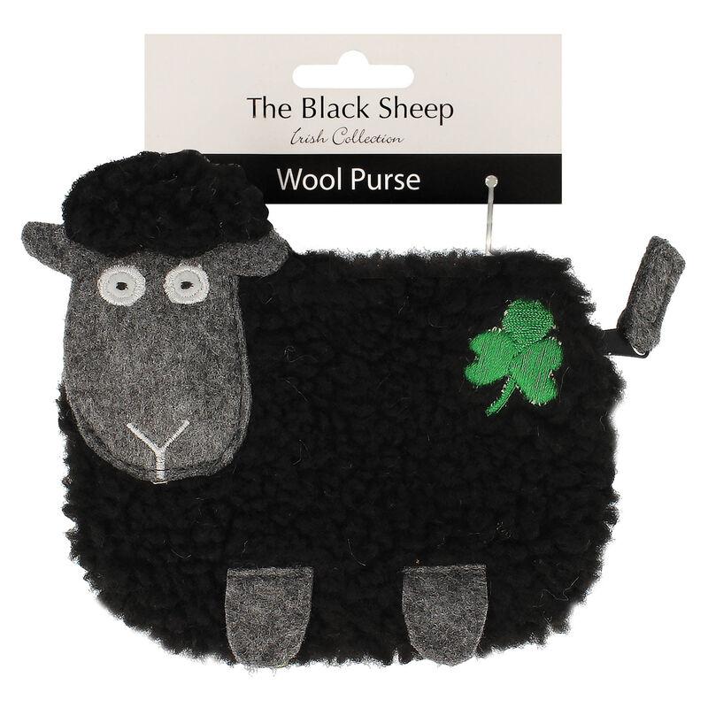 The Black Sheep Fluffy Purse