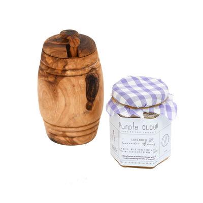 Purple Cloud Pure Natural Lavendar Honey Jar, 196ml