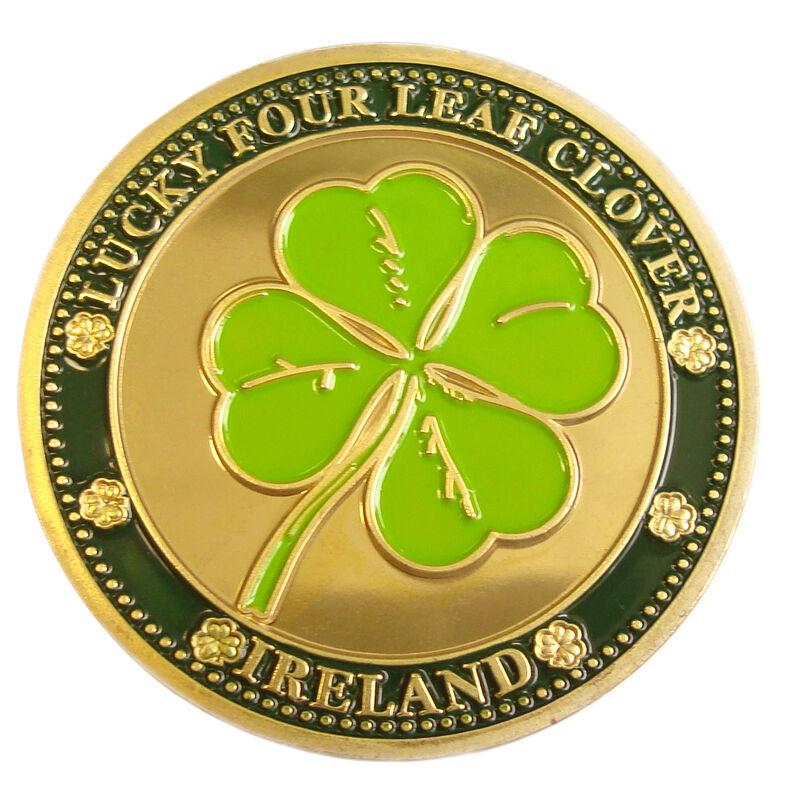Collectors Edition Lucky Four Leaf Clover Design Token