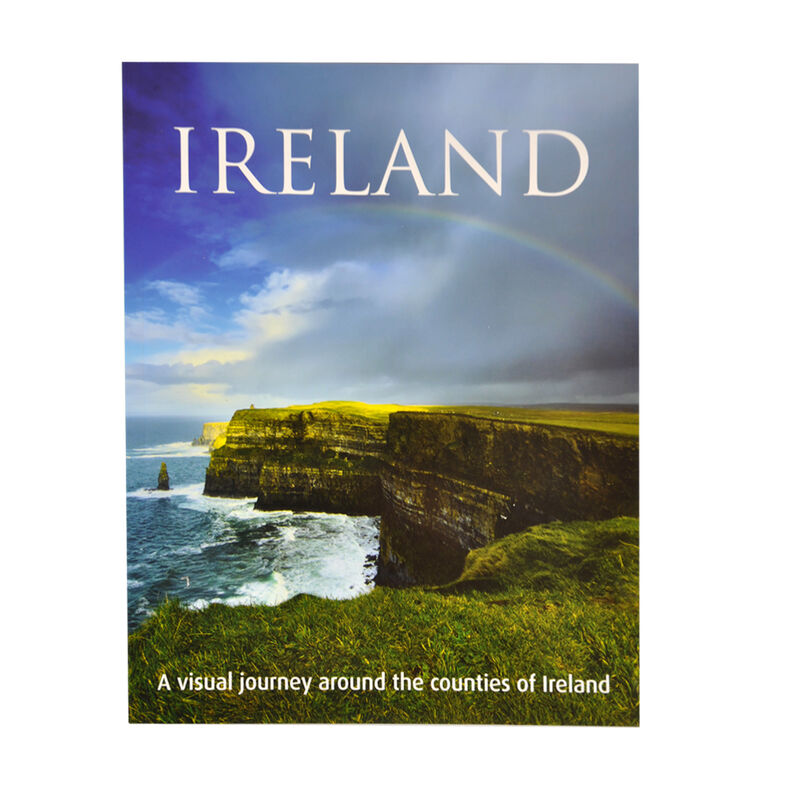 Ireland: A Visual Journey Around The Counties Of Ireland Softback Book  English