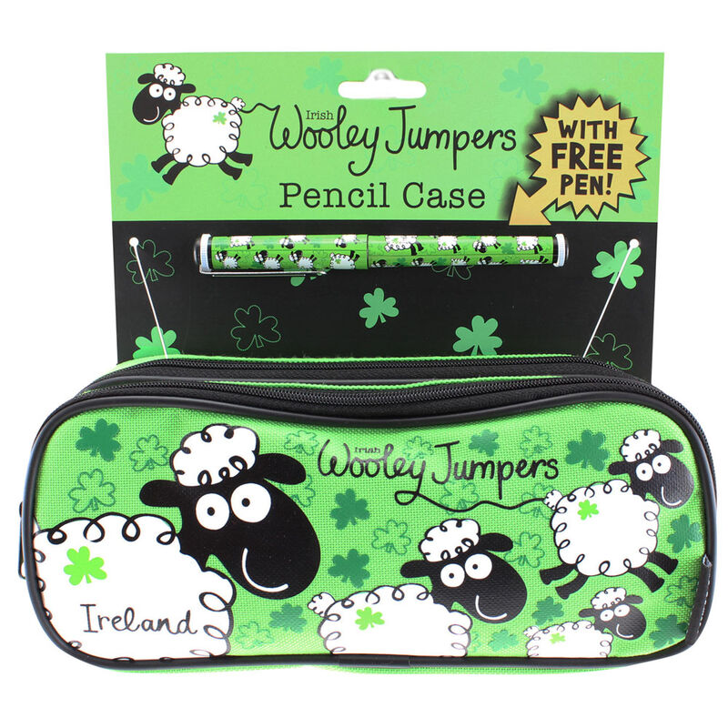 Irish Wooley Jumpers Pencil Case