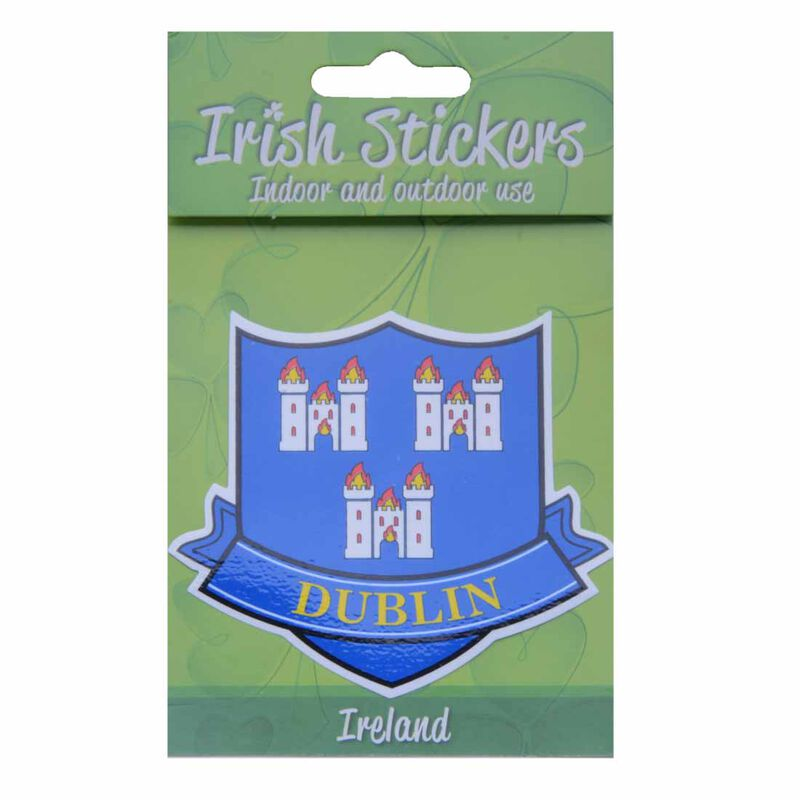 Dublin Crest Sticker