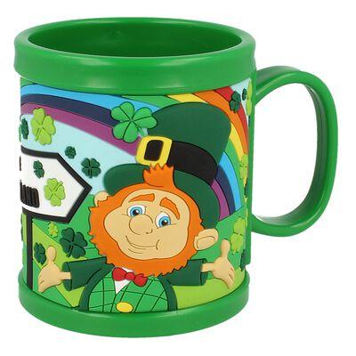 Colourful Ireland Design McMurfy Fun PVC Mug With Ireland Sign
