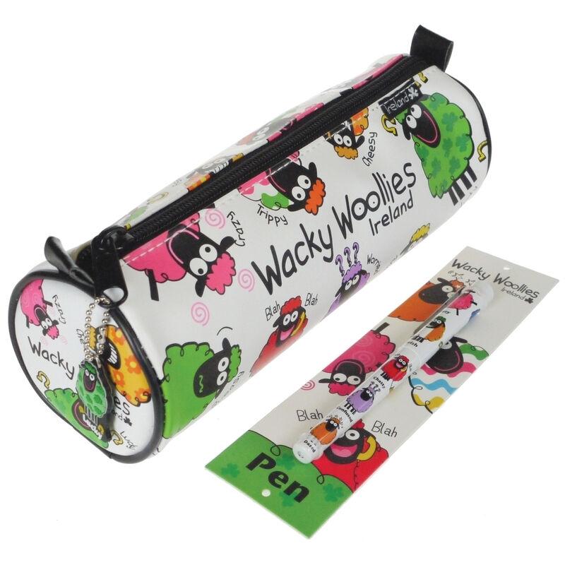 Wacky Woollies Pencil Case