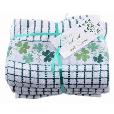 Bale Of Two Shamrock Poli-Dri 100% Cotton T-Towels