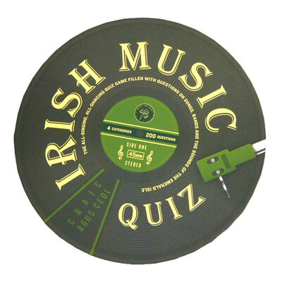 Irish Music Quiz – Include, Traditional, Rock & Pop, 80S And Soundtracks
