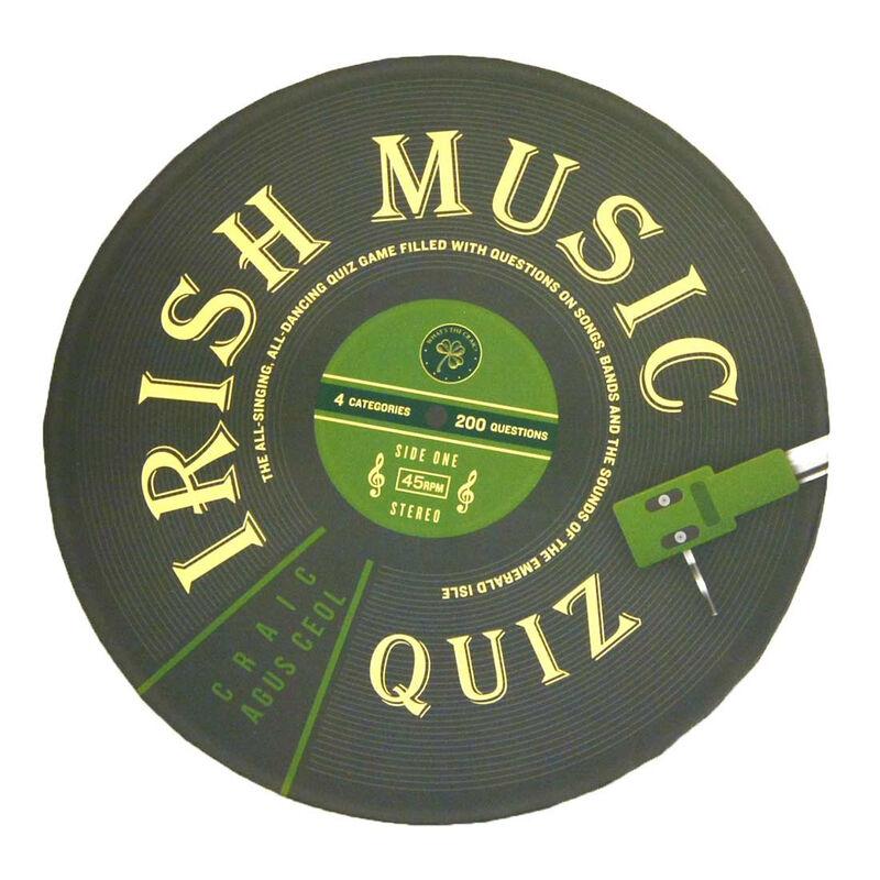 Irish Music Quiz – Include, Traditional, Rock & Pop, 80S And Soundtracks