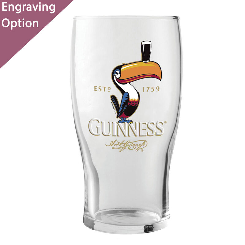 Guinness Toucan Loose Glass