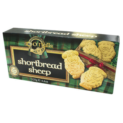 O'Neill's Sheep Shaped Shortbread 125g