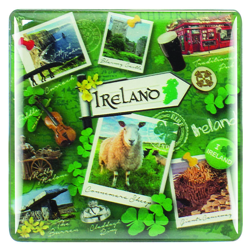 Destination Ireland Range Magnet With Famous Irish Landmark Images