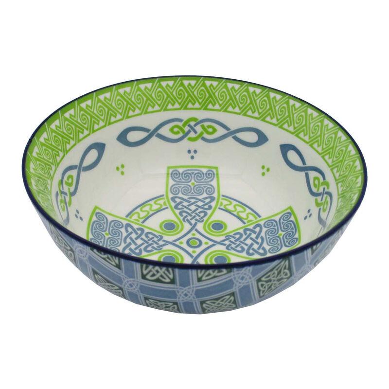 Irish Celtic Bowl With Celtic Cross Design 14cm