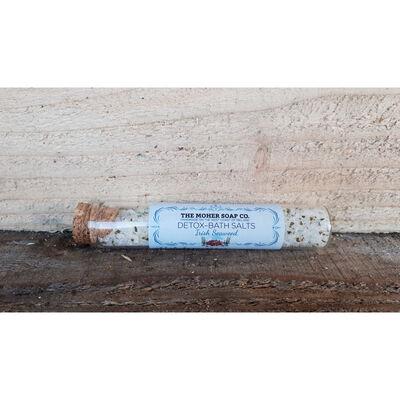 The Moher Soaps Co. Irish Seaweed Detox Bath Salts, 20G Vial