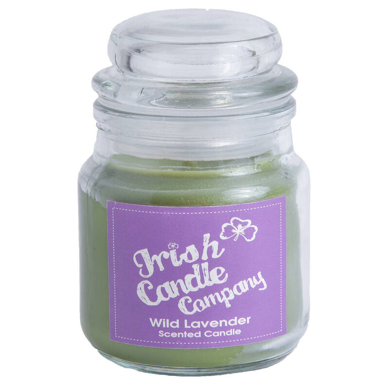 Irish Candle Company Wild Lavender Scented Candle  8 Cm Height