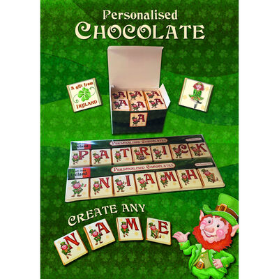 Personalized Chocolate Bar – Create Your Own Message