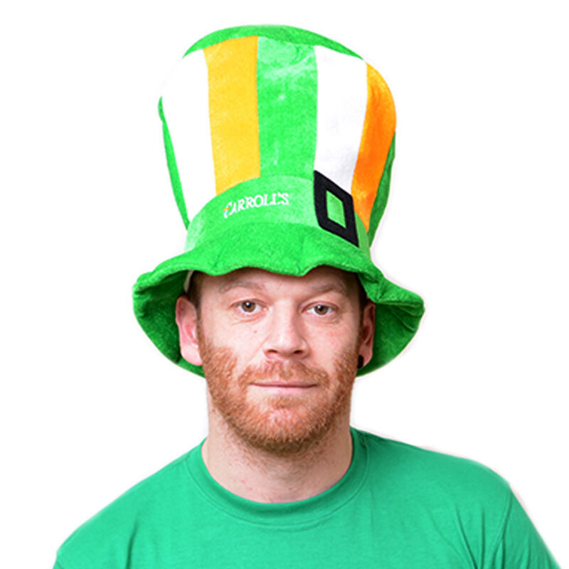 Tri Colour Leprechaun Top Hat