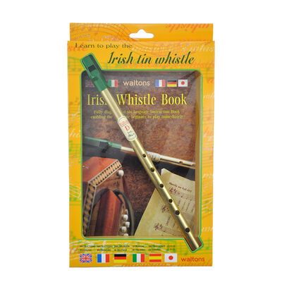 Waltons irische Tin Whistle In D Buch