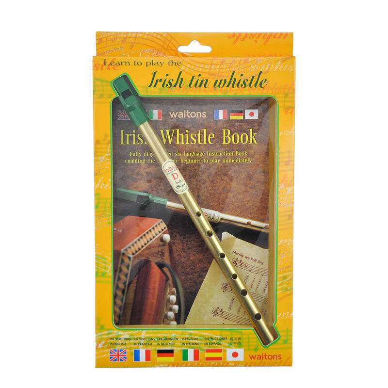Walton's Irish Tin Whistle In D Book