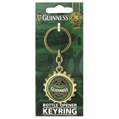 Bottlecap Keychain with St. James Gate Design - Guinness Ireland Collection