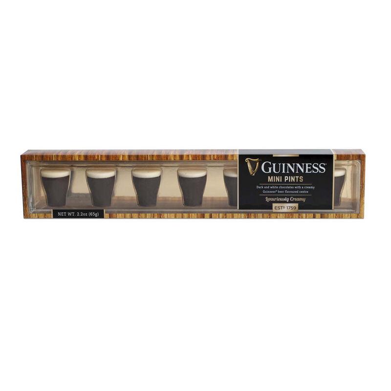 Mini Guinness Pint Chocolates With Dark And White Chocolate  65g