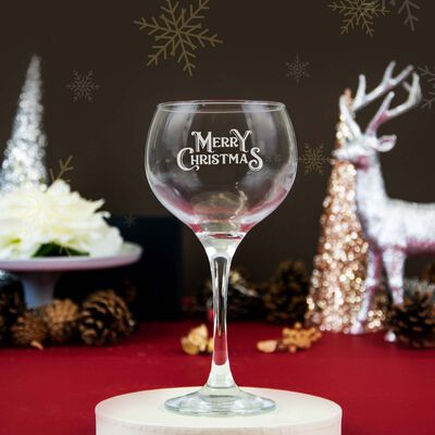 Personalised Gin Glass With Engraving and Gift Box