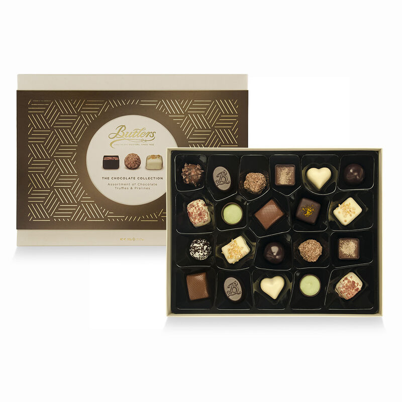 Butlers Assortment Of Chocolate Truffles and Pralines  300G