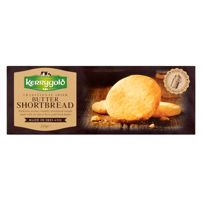 Traditional Irish Butter Kerrygold Shortbread 225G