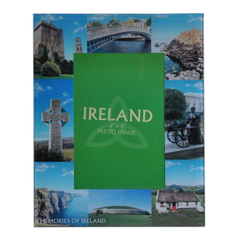 Glass Photo Frame Designed With Famous Landmark Images Of Ireland