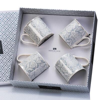 Newgrange Living Bella Bone China Mugs, Set of 4