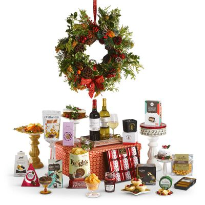Traditional Christmas Hamper Full Of Irish Treats In A Stunning Christmas Box (Europe Only)