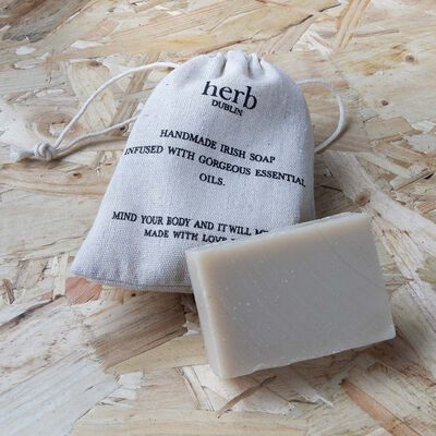 Coconut And Lime Natural Handmade Irish Soap With Essential Oils